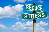 Reduce Stress Street Sign