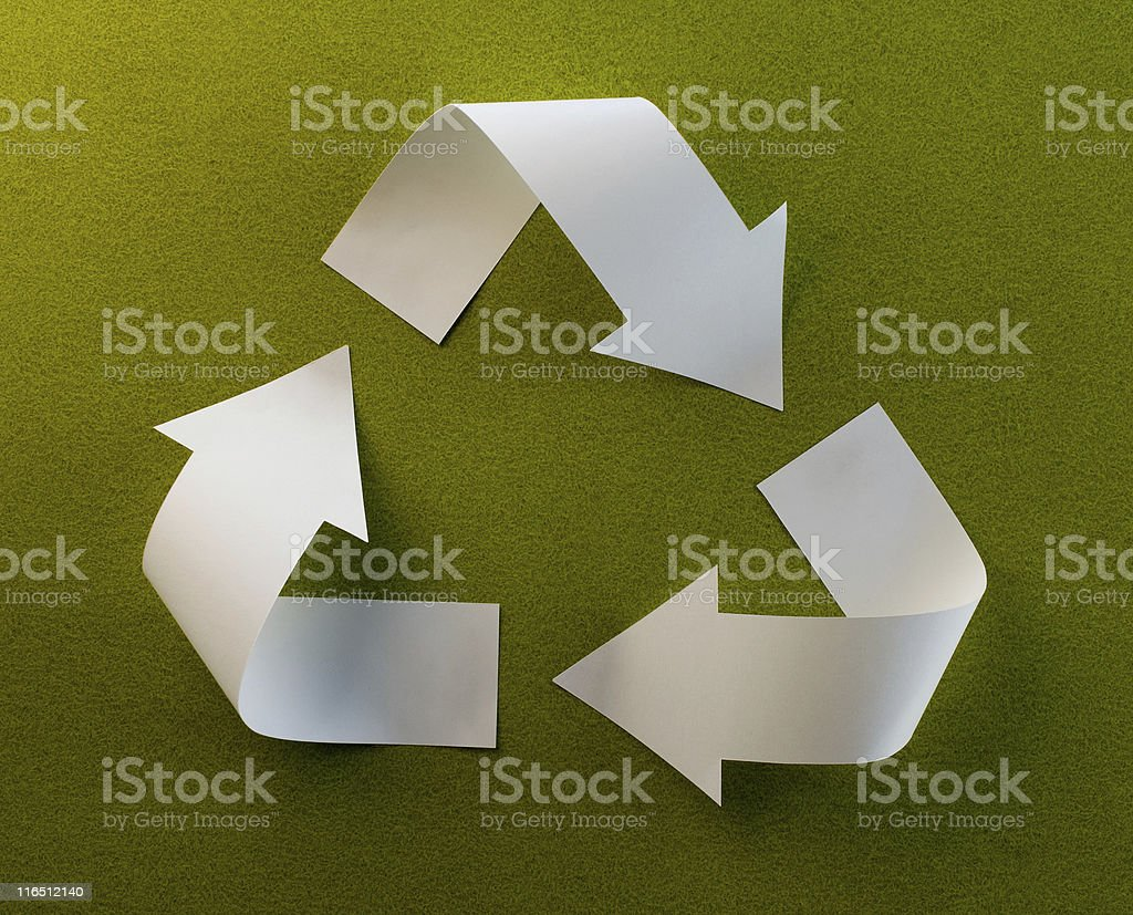 Reduce-Reuse-Recycle royalty-free stock photo