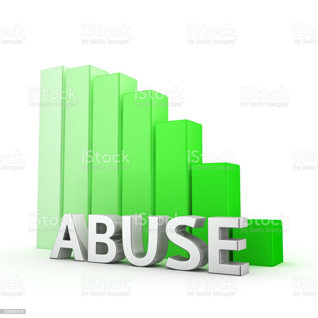 Reduction of Abuse stock photo