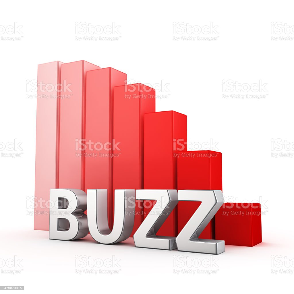 Reduction of Buzz stock photo
