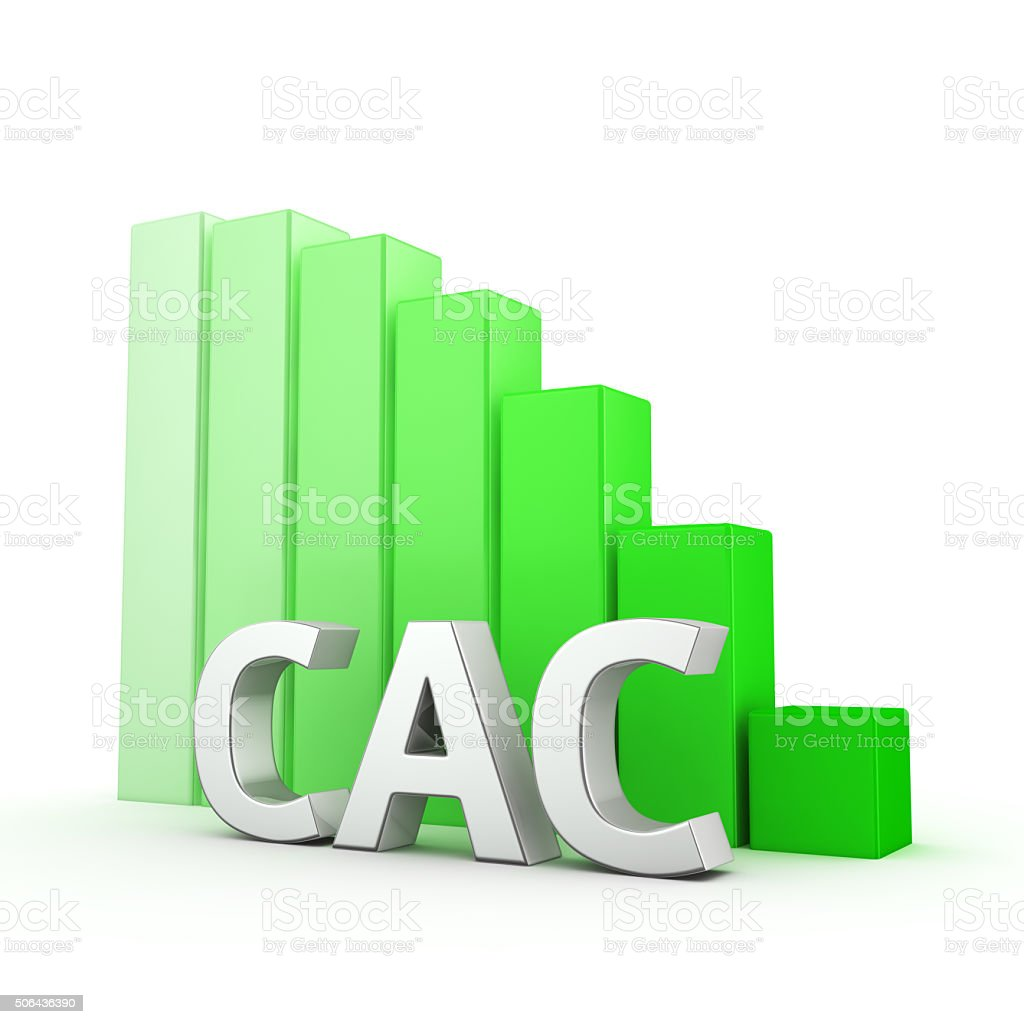 Reduction of CAC stock photo