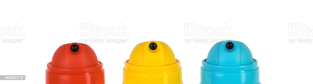 Red-Yellow - Blue royalty-free stock photo