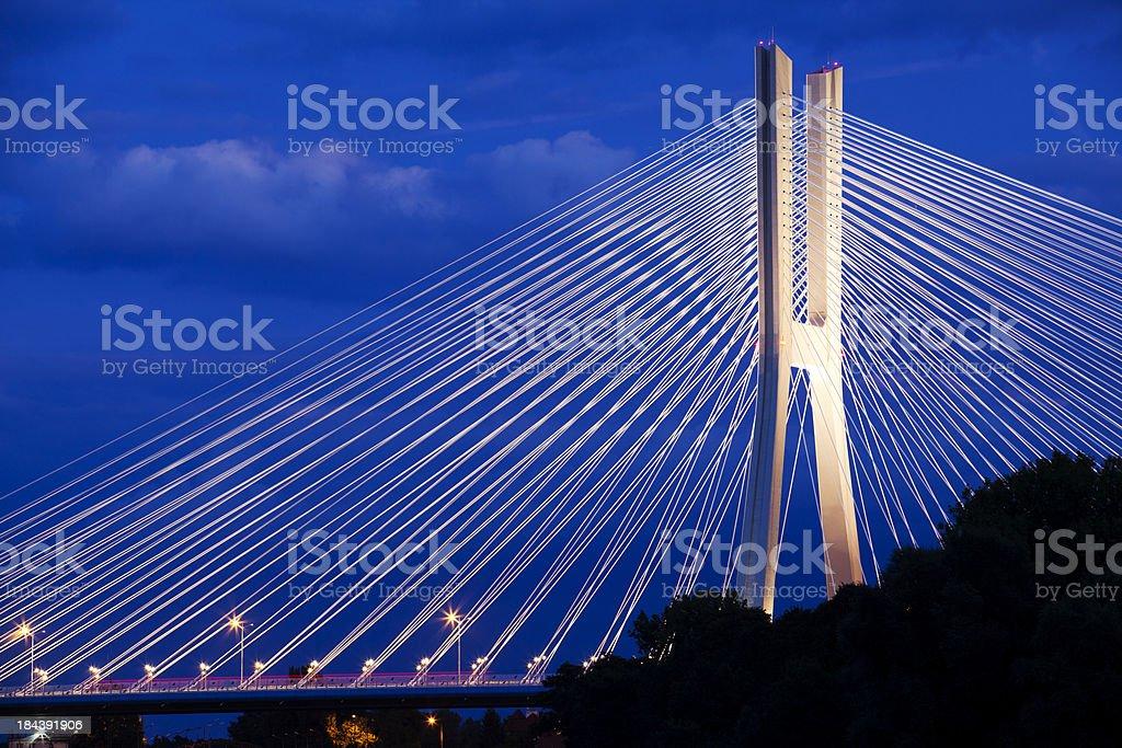 Redzin bridge royalty-free stock photo