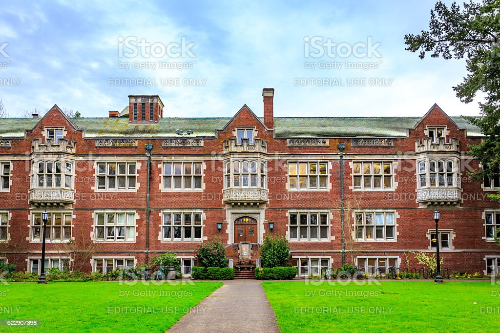 Reed College stock photo