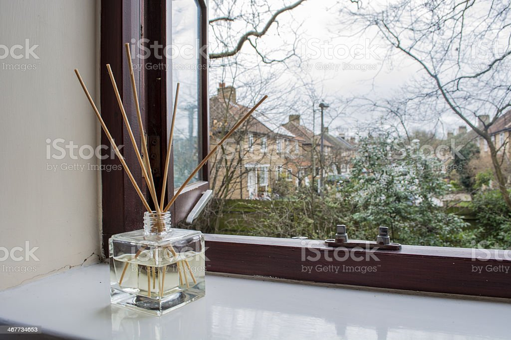 Reed Diffuser to Make a Room Smell Nice stock photo