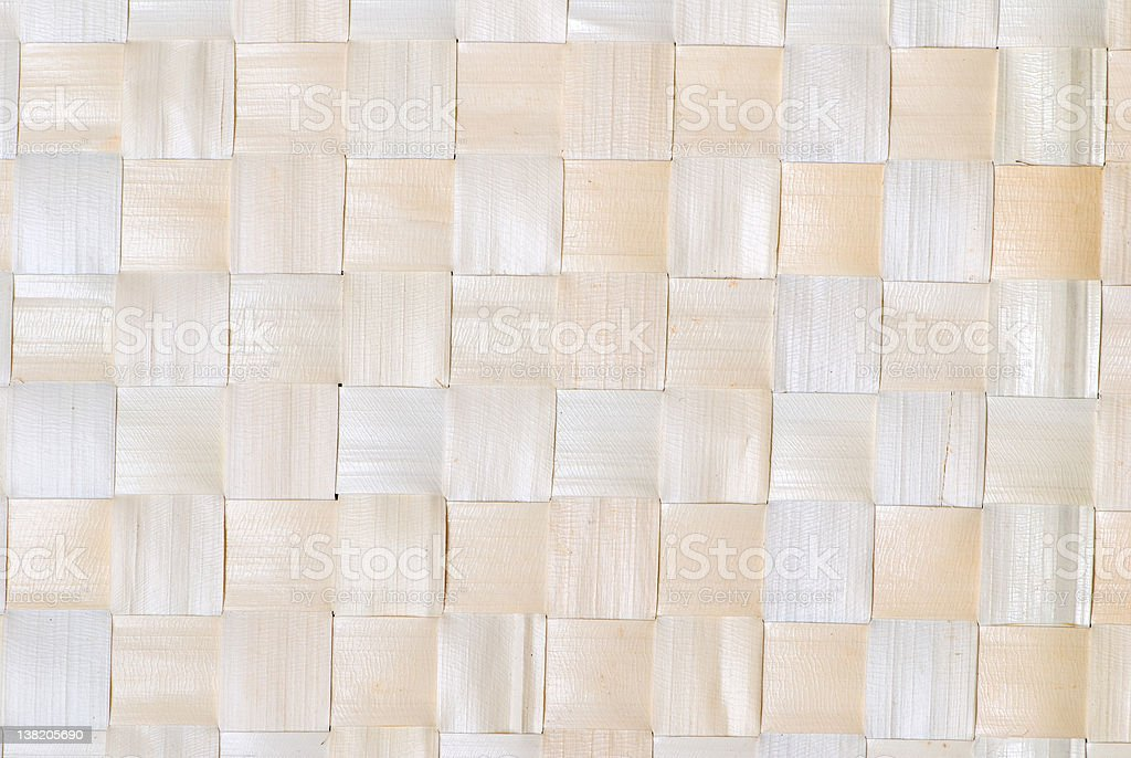 Reed place setting texture royalty-free stock photo