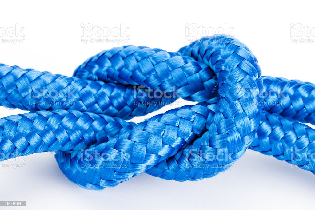 Reef Knot royalty-free stock photo