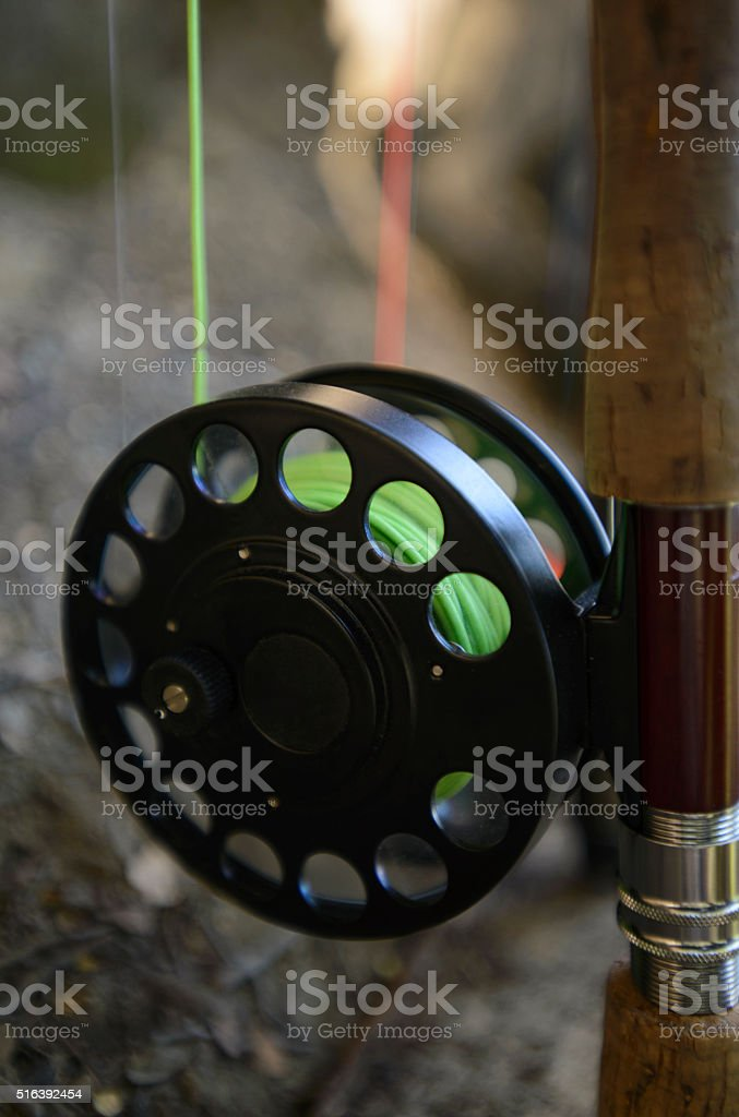 Reel stock photo