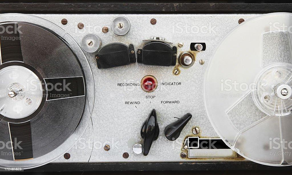 Reel Tape Recorder royalty-free stock photo