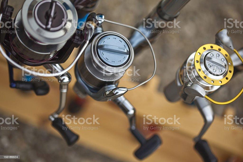 Reels stock photo