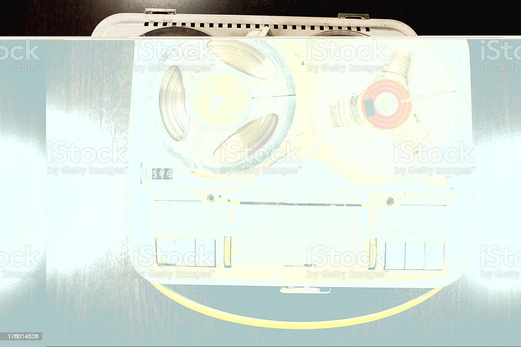 Reel-To-Reel Tape stock photo