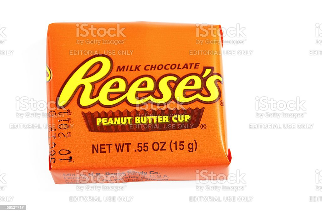 Reese's Peanut Butter Cup Isolated stock photo