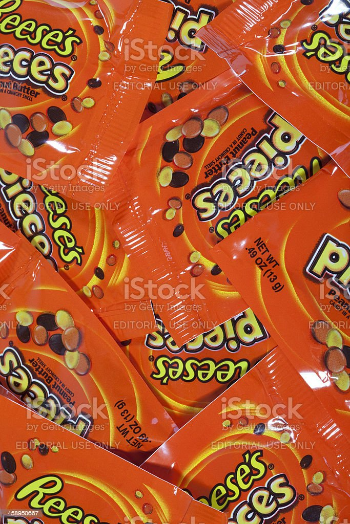 Reese's Pieces royalty-free stock photo