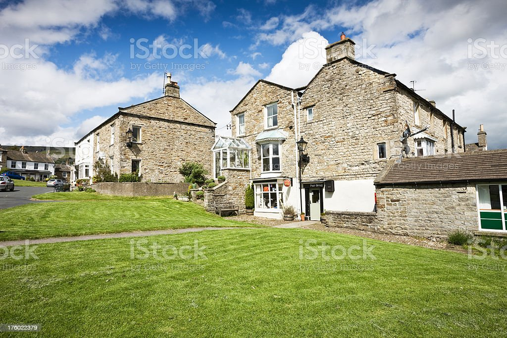 Reeth in Yorkshire royalty-free stock photo