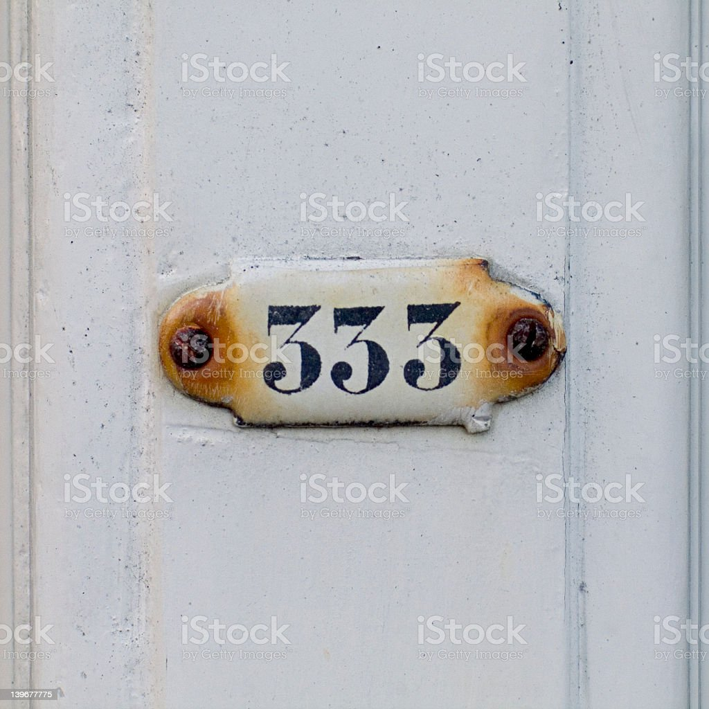 Nr. 333 royalty-free stock photo