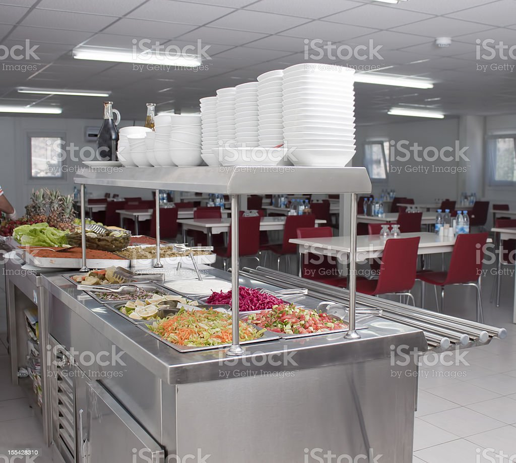 refectory royalty-free stock photo