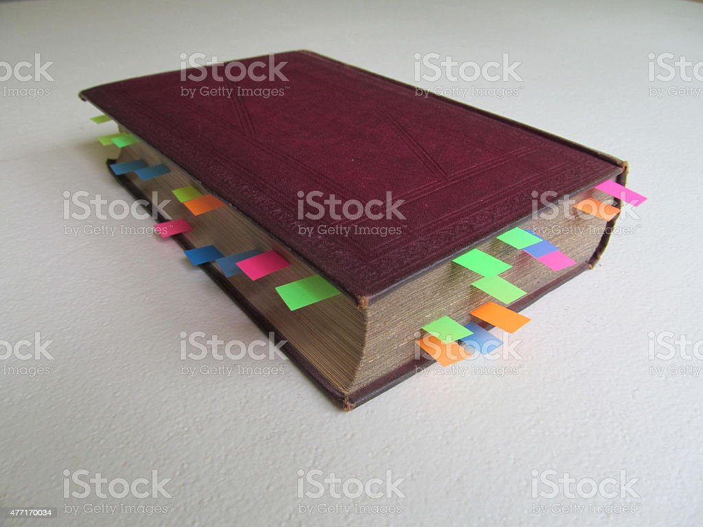 Reference Book II stock photo