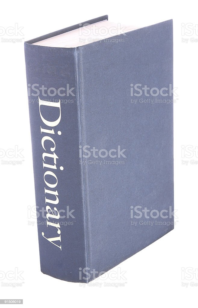 Reference book stock photo