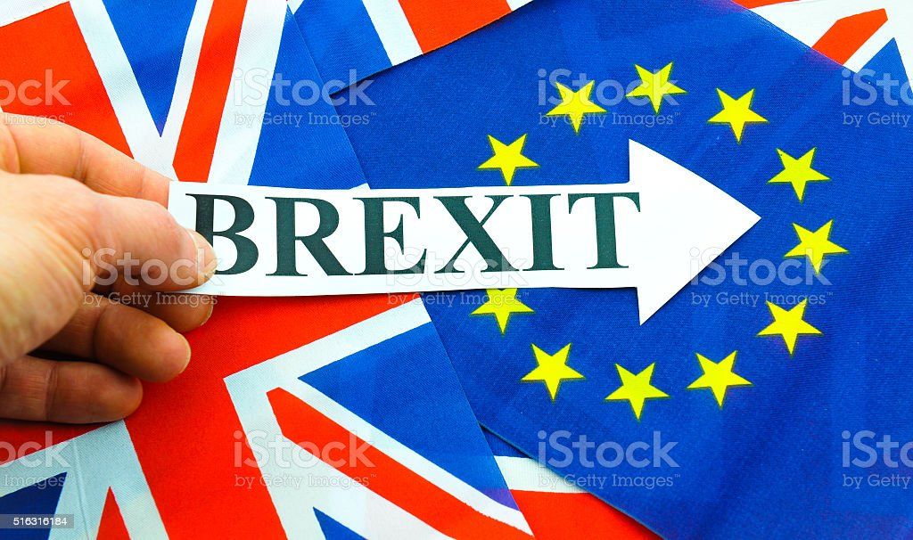 UK EU referendum stock photo