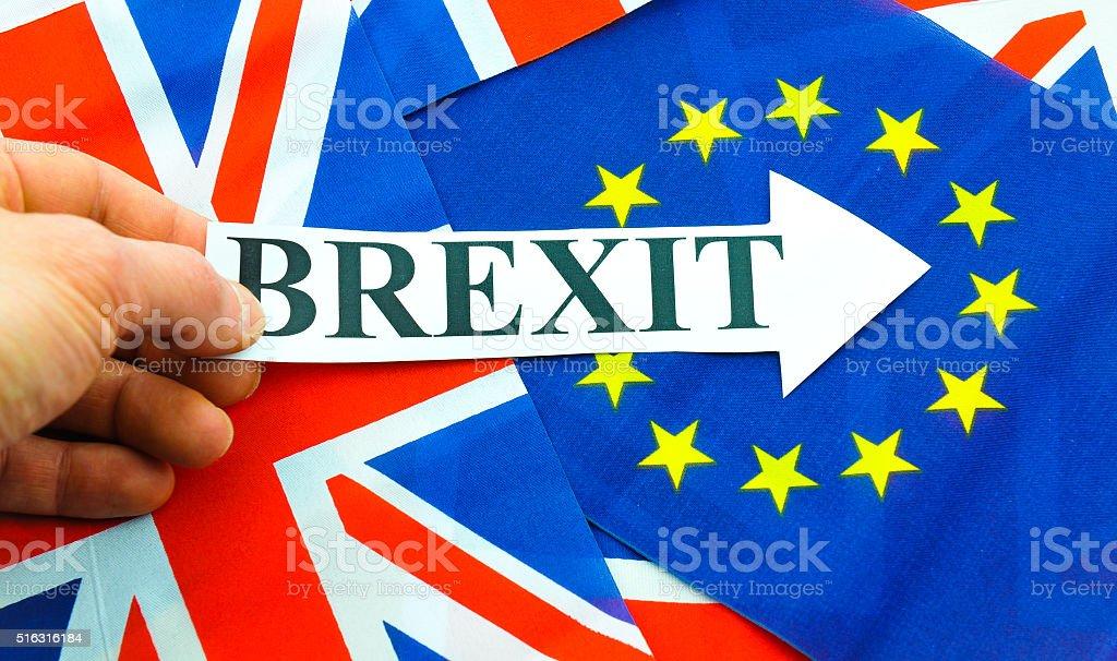 UK EU referendum stock photo