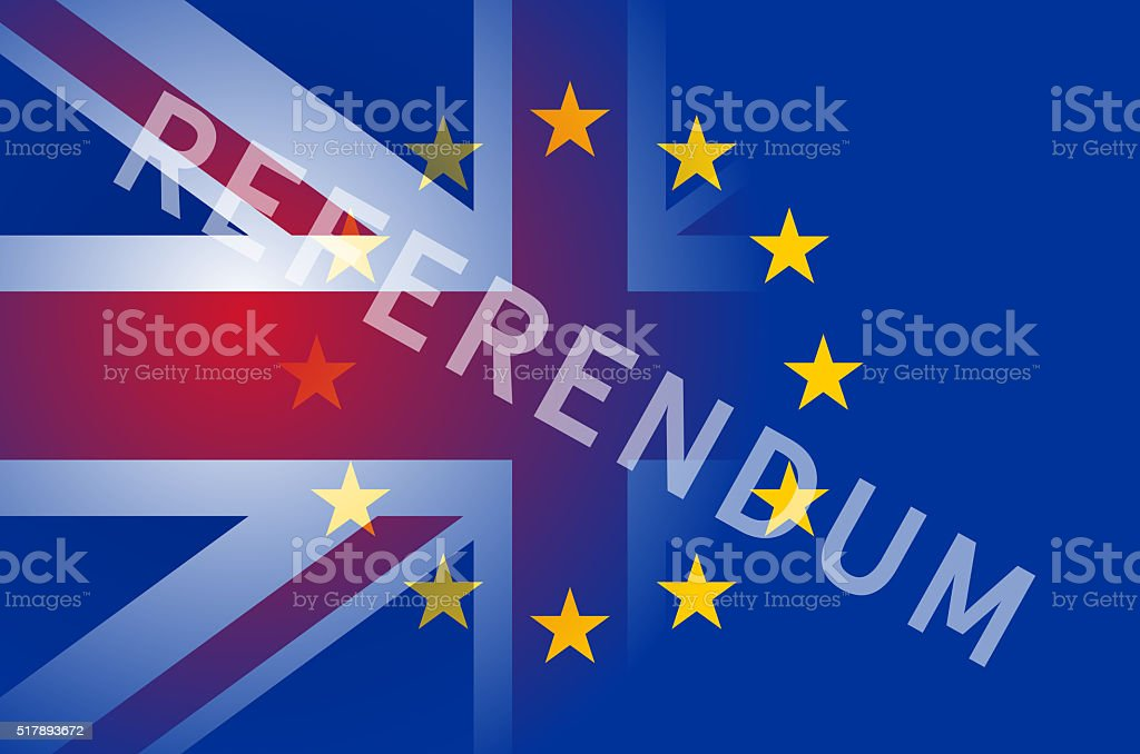Referendum stock photo