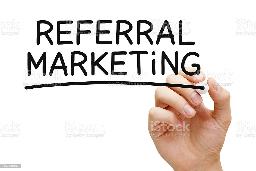 Referral Marketing stock photo