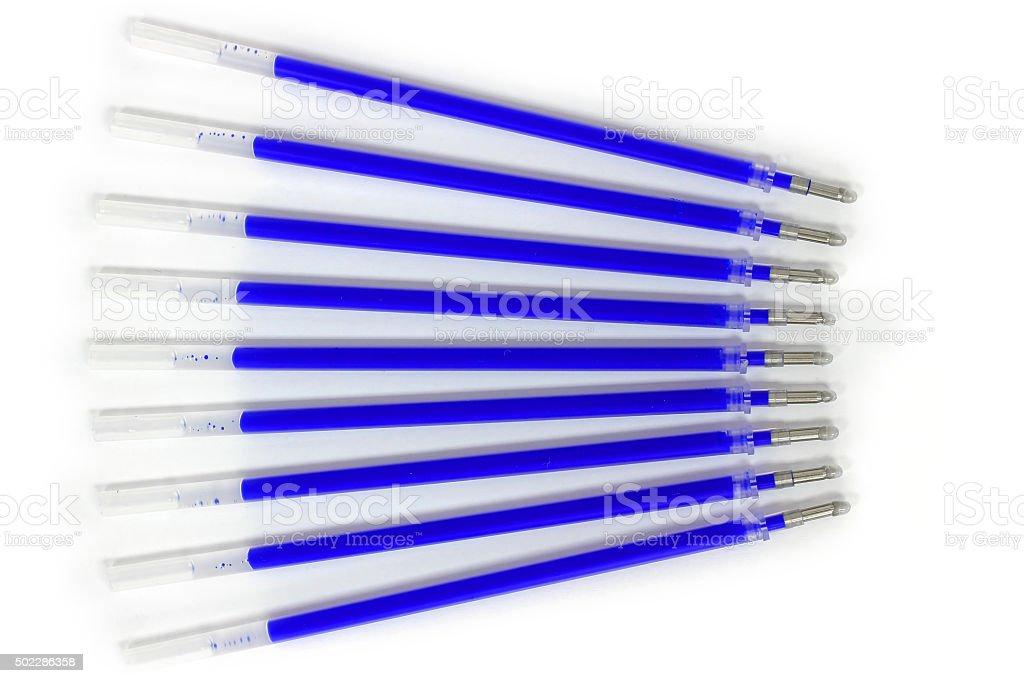 Refill for gel pen stock photo