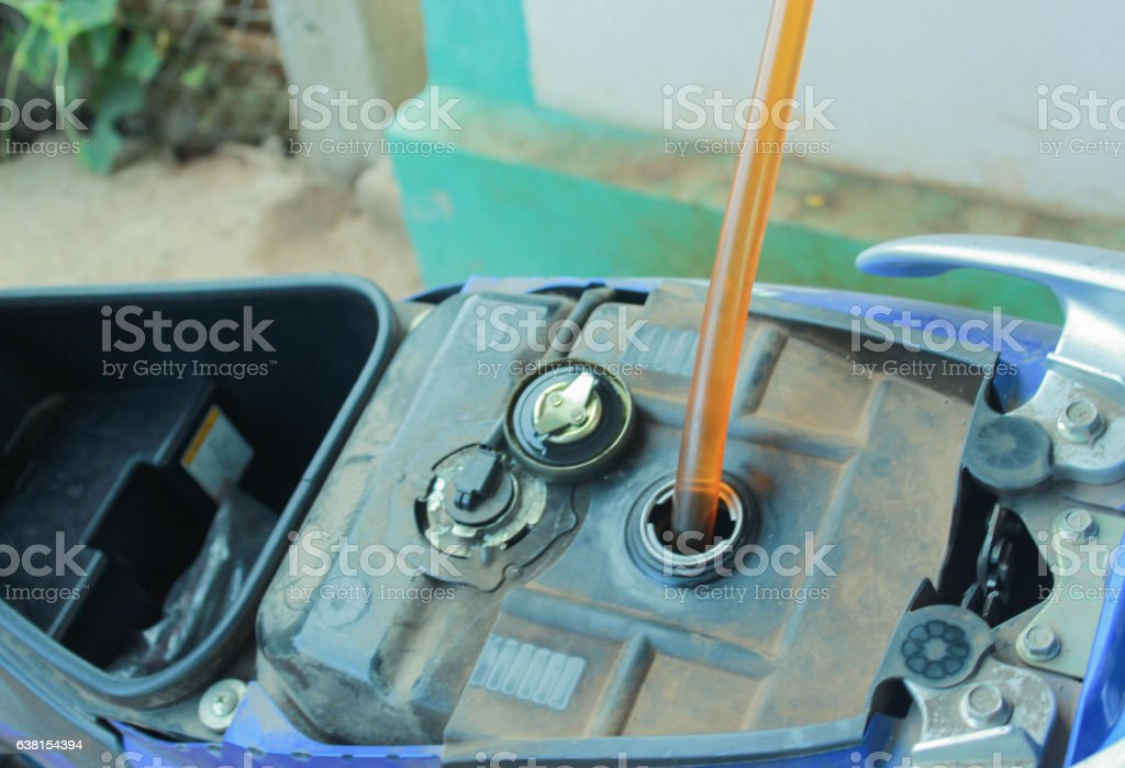 refill oil stock photo