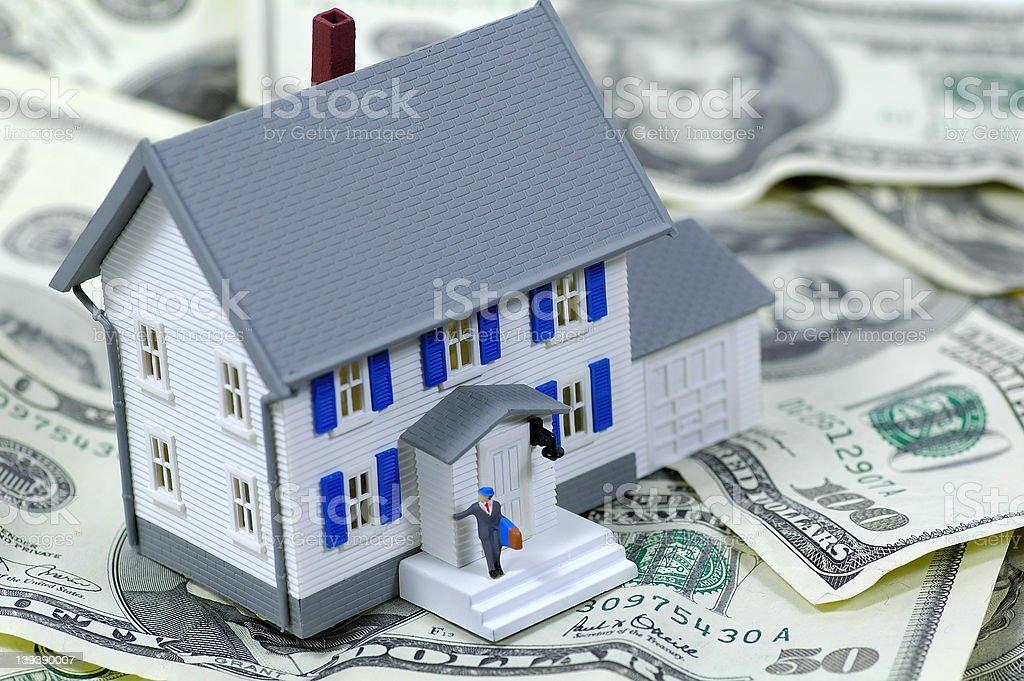Refinance stock photo
