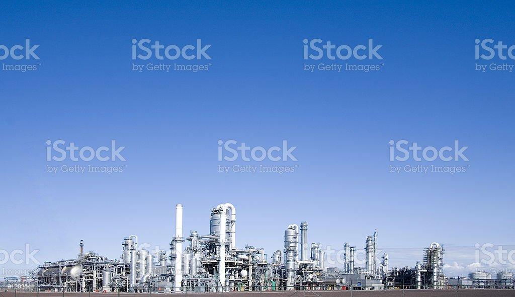 refinery 3 stock photo