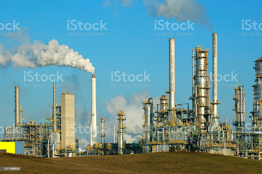 Refinery II royalty-free stock photo