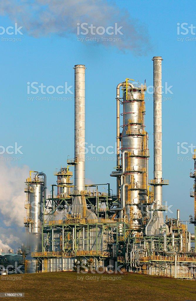 Refinery III royalty-free stock photo