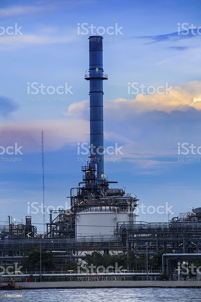 Refinery industrial plant in Bangkok Thailand. royalty-free stock photo