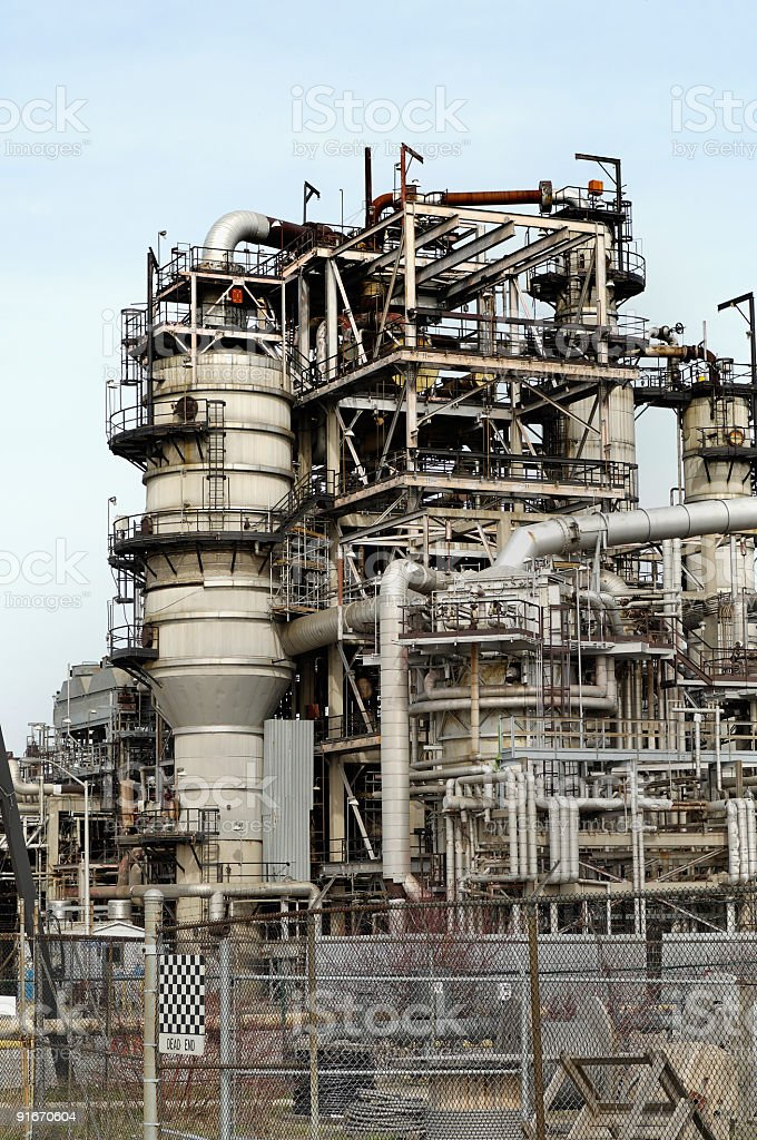 Refinery (3) royalty-free stock photo