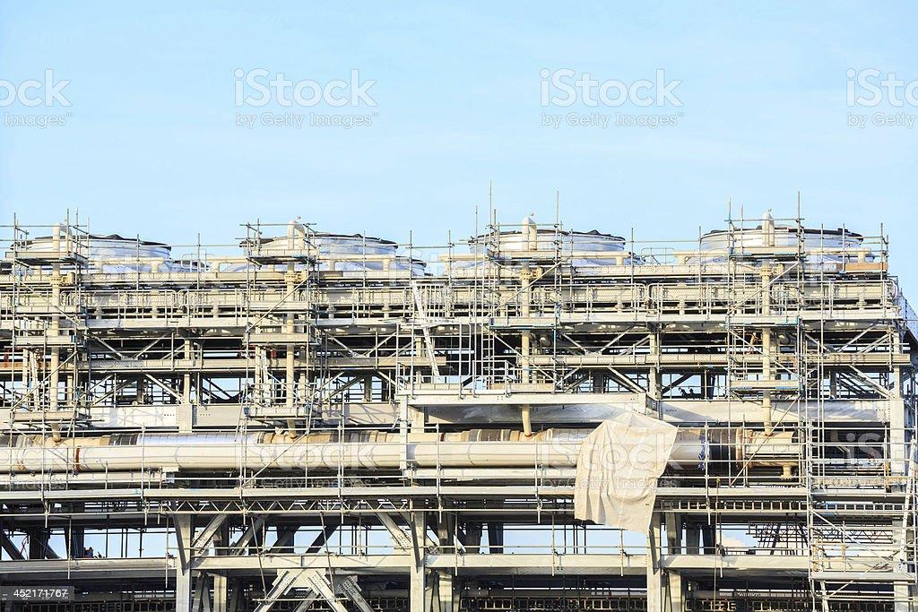 LNG Refinery plant stock photo