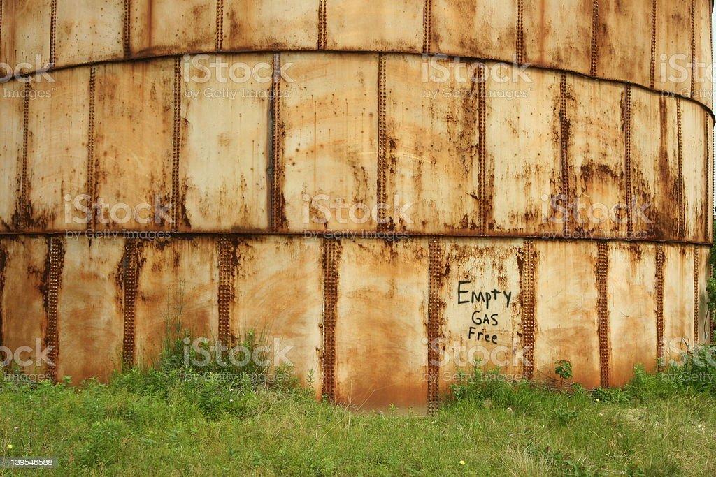 Refinery tank close 7 stock photo