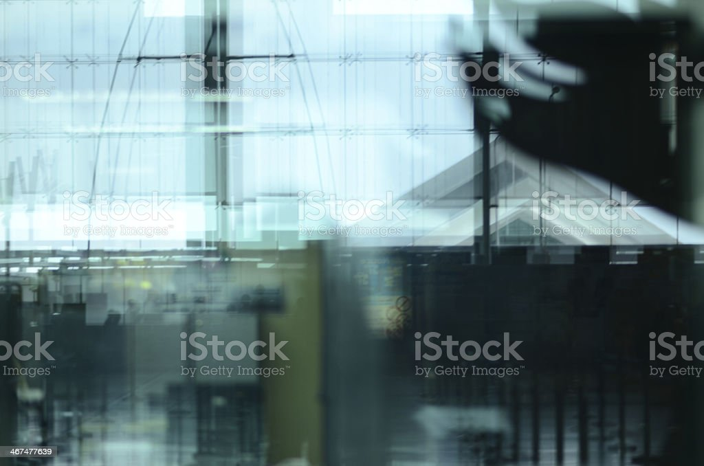 Reflect of complicate royalty-free stock photo