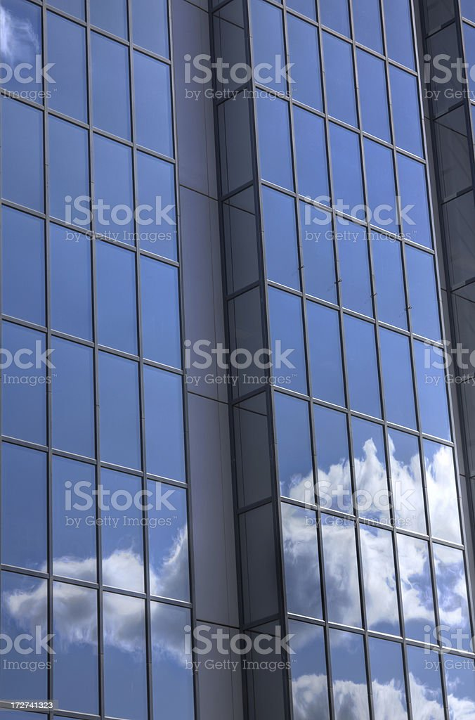 Reflected Clouds - Narrow Field royalty-free stock photo