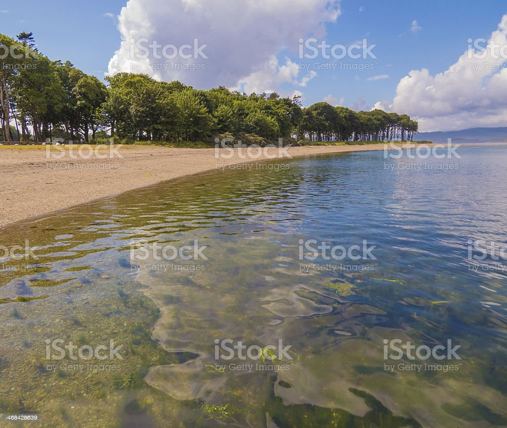 Reflected Clouds stock photo