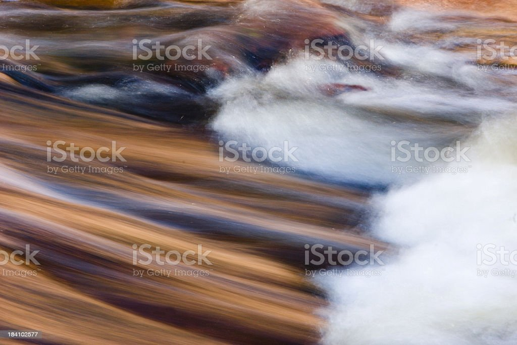 Reflected Stream Colors royalty-free stock photo