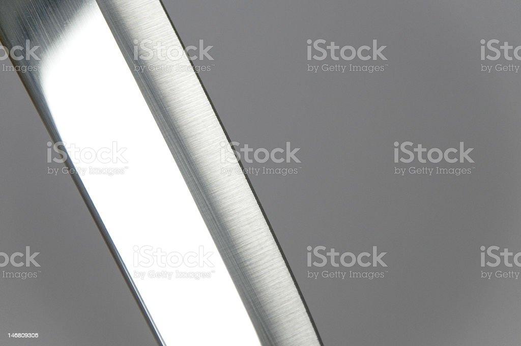 Reflecting Knife stock photo