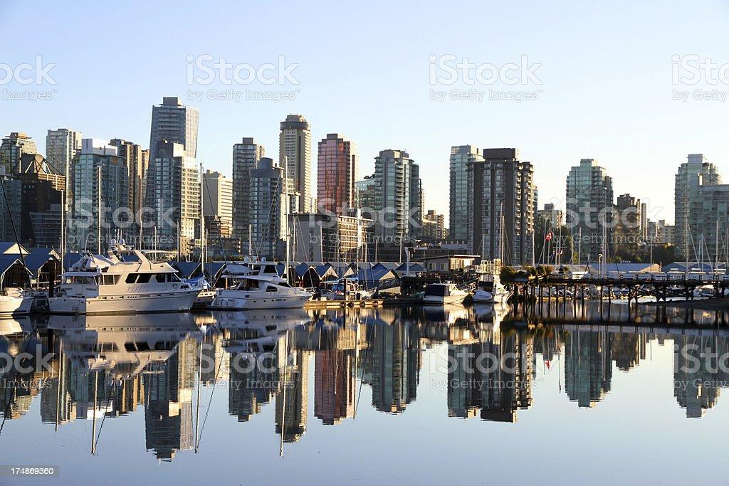Reflecting Seas royalty-free stock photo