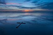 Reflection Cross Beach