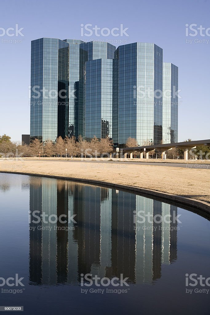 Reflection of Modern Architecture stock photo
