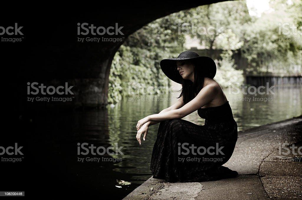 Reflection royalty-free stock photo