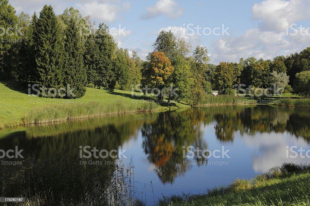 Reflection Pool royalty-free stock photo