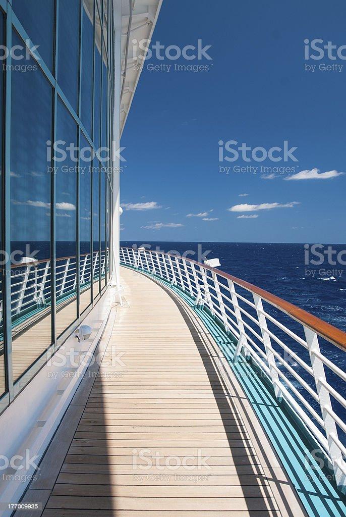 Reflections At Sea stock photo