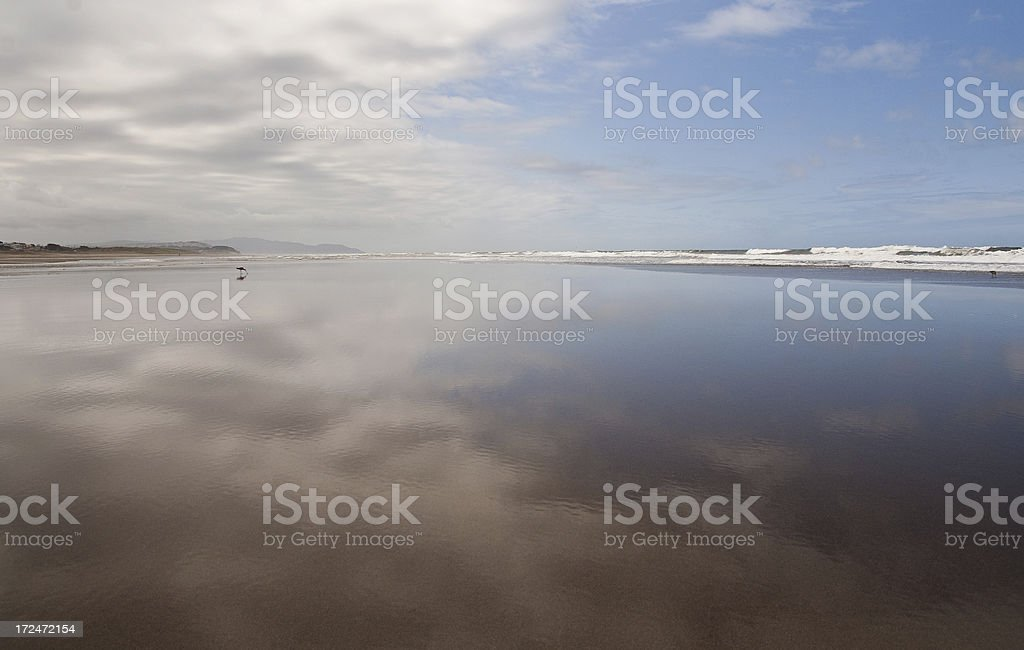 Reflections by the Shore royalty-free stock photo