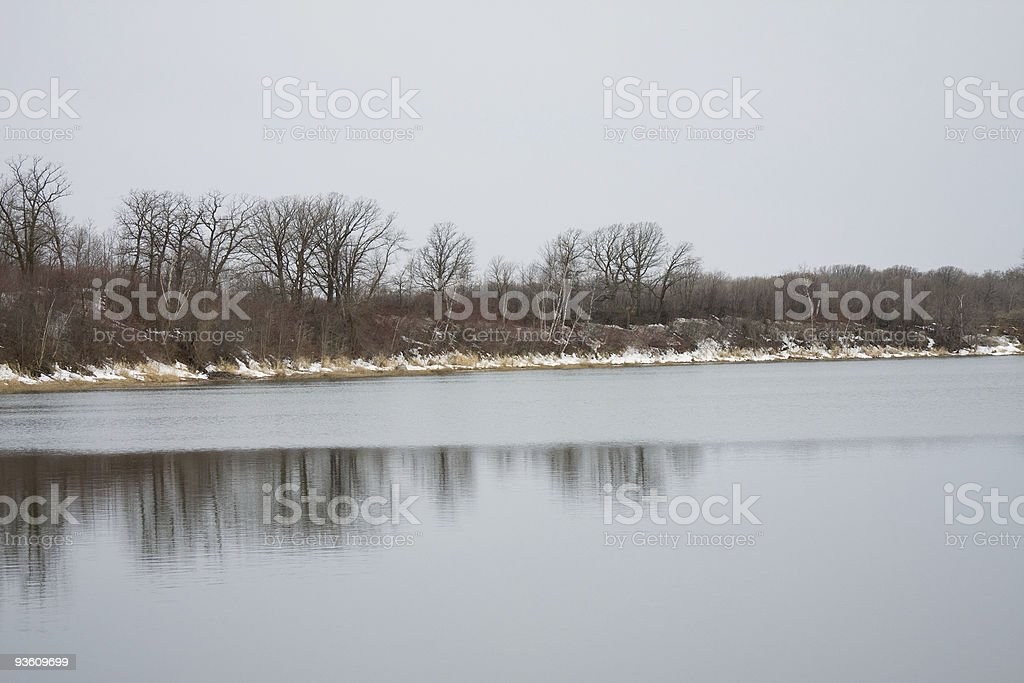 Reflections in Spring stock photo