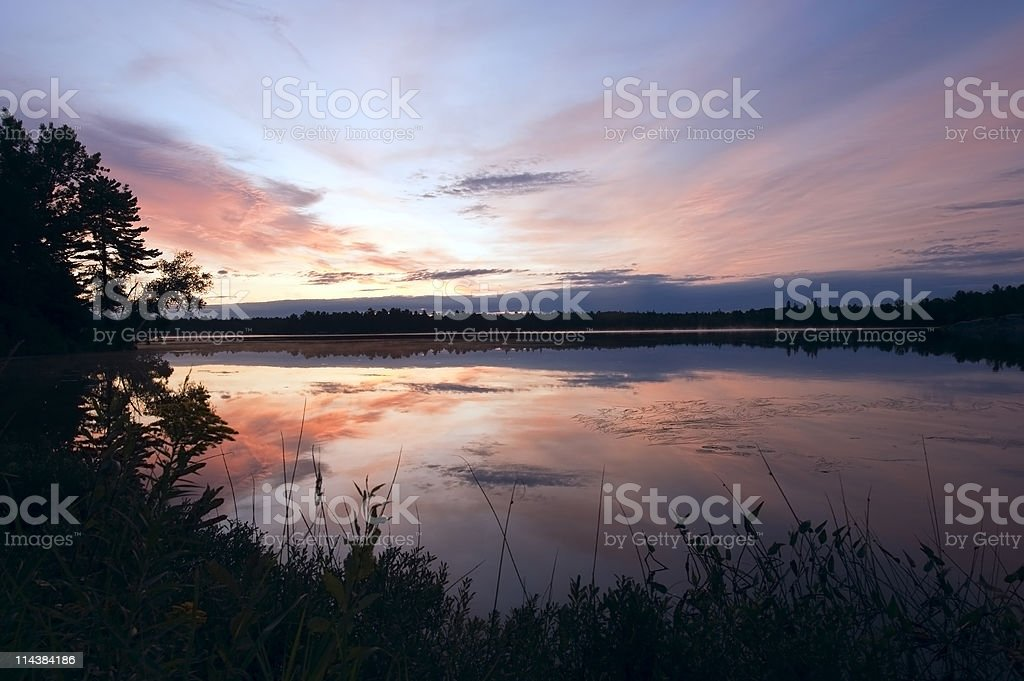 Reflections of Dawn royalty-free stock photo